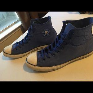 Blue Men Converse